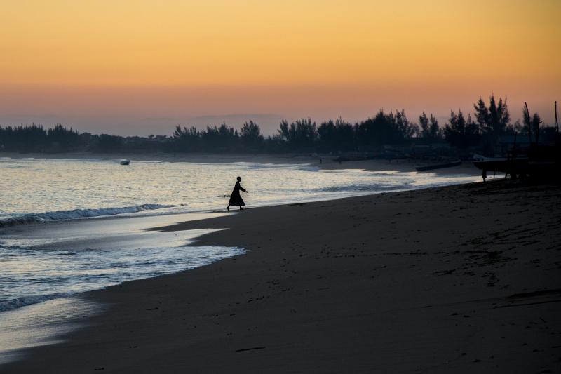 Západ slunce na Anakao beach