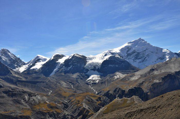Výhled od čajovny ve 5070 m