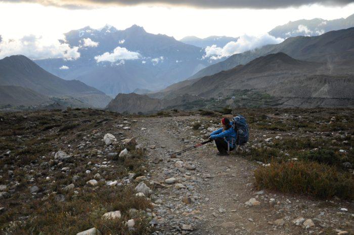 Cestou do Muktinathu
