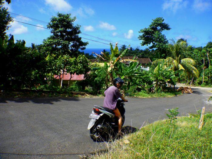 Výlet na motorce po okolí Biry