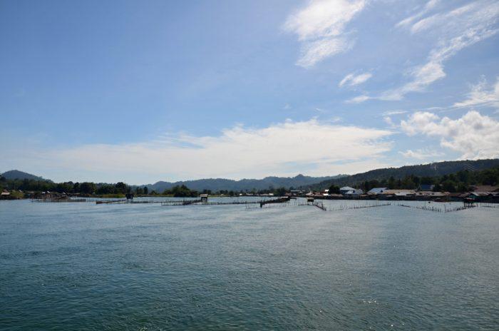 Jezero Poso v Tenteně