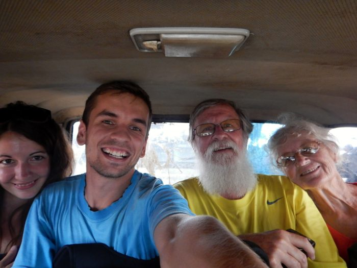 Na cestě do Rantepaa s Jeffem a Pildou