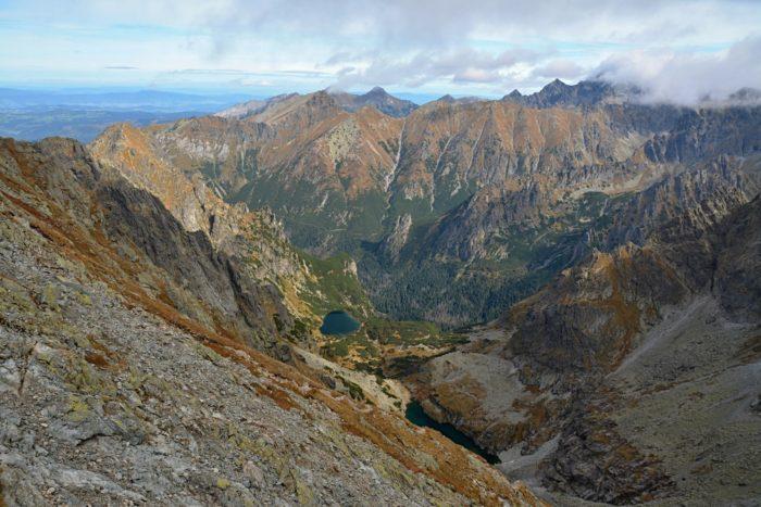 Výhled z Rysů - nejvyšší a nejnavštěvovanější vrchol Polska