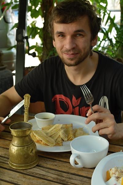 Snídaně ve Stone Town Cafe