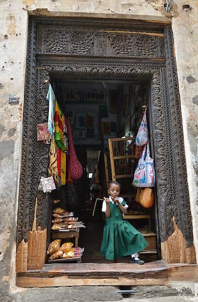 Zanzibarské dveře