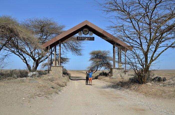 Brána národního parku Serengeti