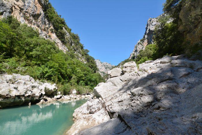 Kaňon Verdon, Provence