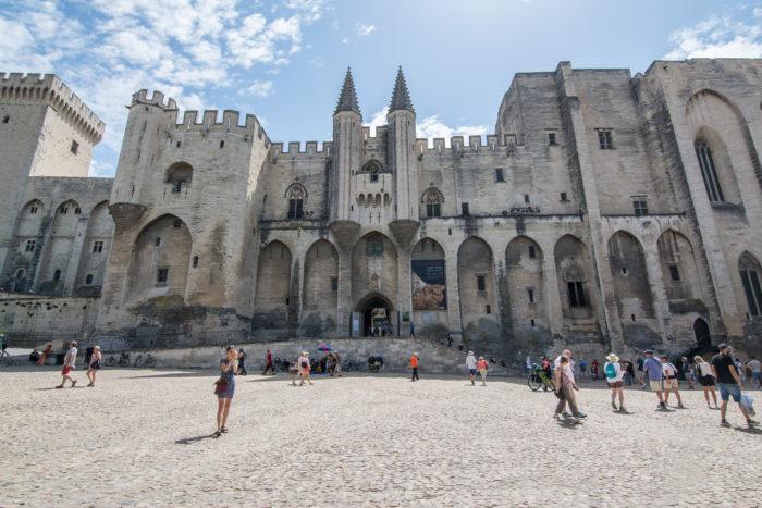 Papežský palác Avignon
